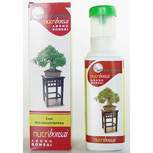 Mistral Bonsái 85002 - Nutribonsai 250 ml.