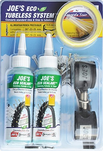 Joe's No-Flats Tubeless Kit de ciclismo