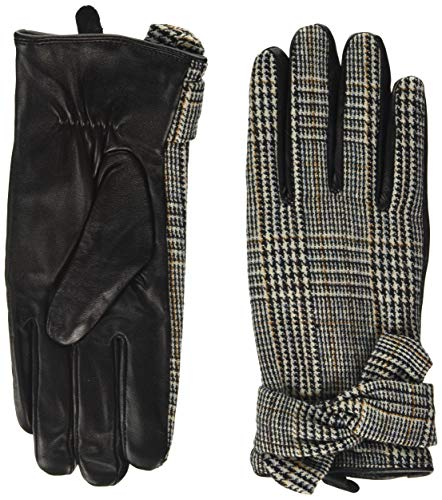 Dorothy Perkins Multi Coloured Check Bow Gloves Gants, Multi