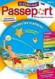 Passeport Cahier de Vacances 2020 - Toutes les matières du CM2 à la...
