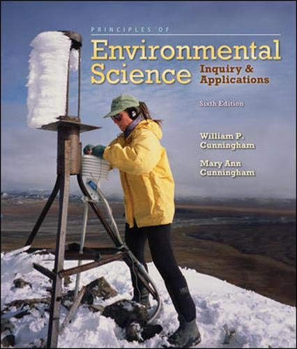 Principles of Environmental Science: Inquiry &...