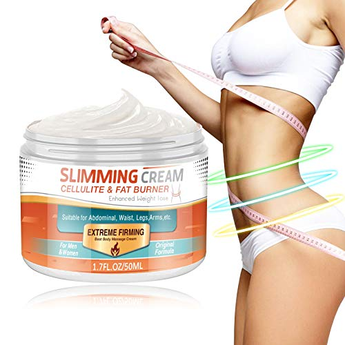Hot Cream,Anti Cellulite Cream for Belly, Legs, Arms, Thigh and Waist, Quick Slimming and Fat...