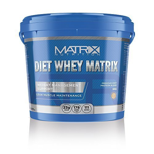 Matrix Nutrition Diet Whey Protein Powder Shake - Meal Replacement Weight Loss Shake (Banana, 5KG)