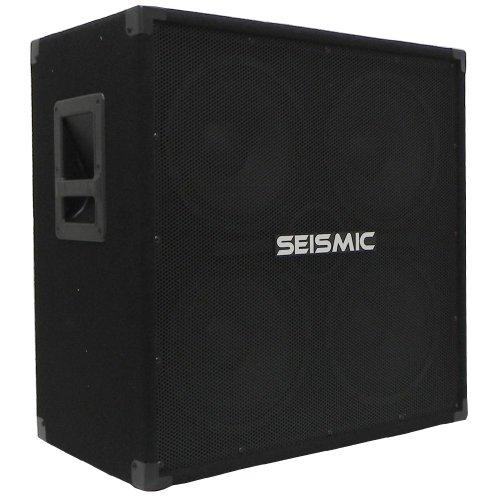 Seismic Audio - 410 Bass Guitar Speaker Cabinet PA DJ 800 Watts 4x10 4 10