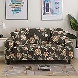 Fundas de sofá suaves y cómodas para sala de estar, fundas elásticas para sofá de esquina, A15, 2 plazas