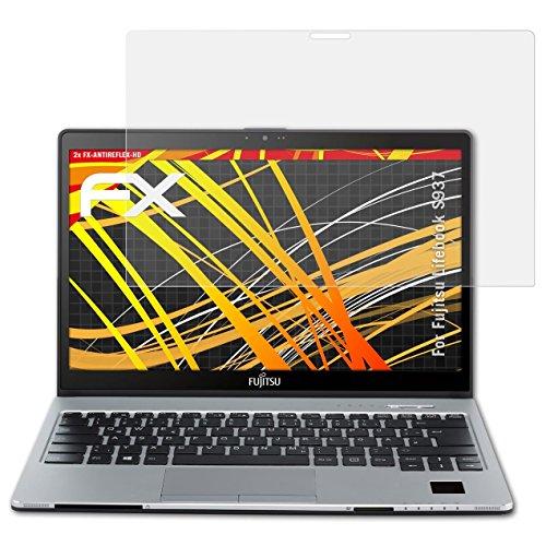 atFolix Schutzfolie kompatibel mit Fujitsu Lifebook S937 Bildschirmschutzfolie, HD-Entspiegelung FX Folie (2X)