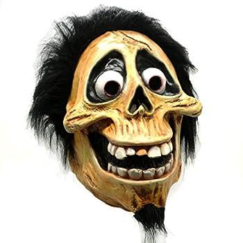 Halloween Skull Latex Mask Full Head Movie Coco Hector Costume Fancy Dress Prop
