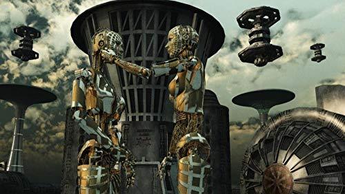Robot De Ciencia Ficción Jigsaw Puzzle 1000 Piezas De Madera, Adulto Niños Juguetes, Regalo Para, Ejercicio Cerebral Alta Dificultad, 75 * 50 Cm