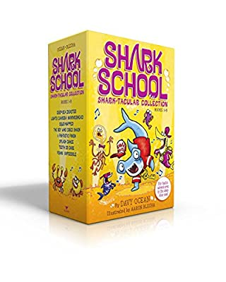 Shark School Shark-tacular Collection Books 1-8: Deep-Sea Disaster; Lights! Camera! Hammerhead!; Squid-napped!; The Boy Who Cried Shark; A Fin-tastic ... Dance; Tooth or Dare; Fishin': Impossible