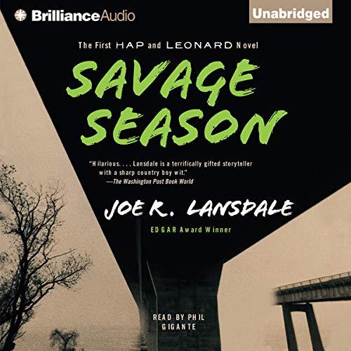 Savage Season audiobook cover art