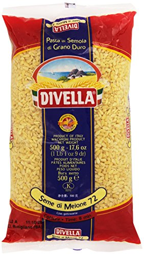 Divella - Seme Di Melone 72, Pasta Di Semola Di Grano Duro , 500 Ml