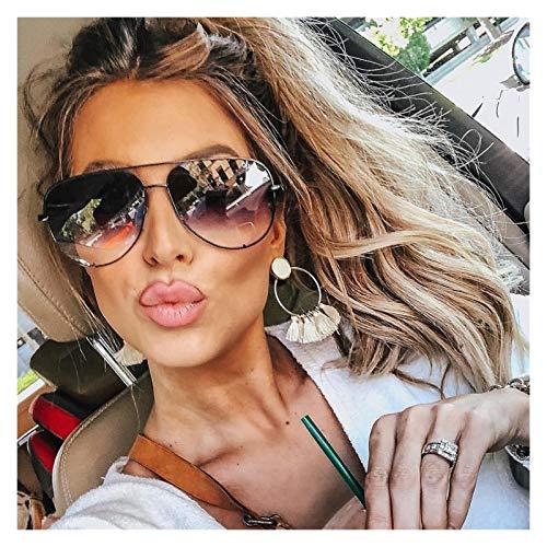 TEYUN 47726 Gafas de Sol para Mujer Sunnas Sombras Piloto UV400 Vidrios Vidrios Australia