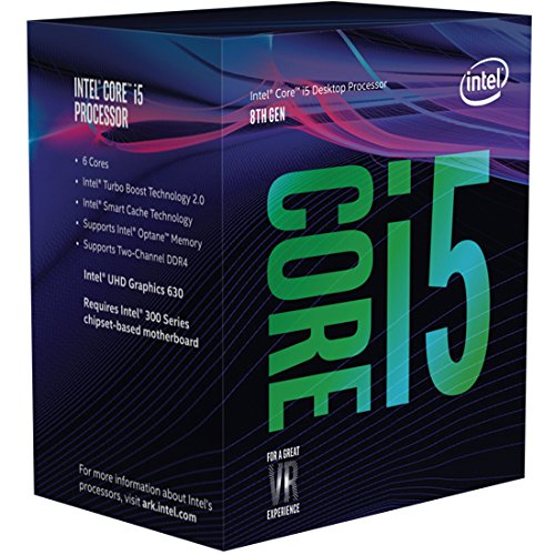 Intel Core i5-8500 Prozessor (9 MB Cache, bis 4,10 GHz)