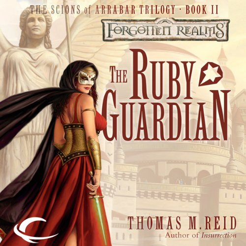The Ruby Guardian audiobook cover art