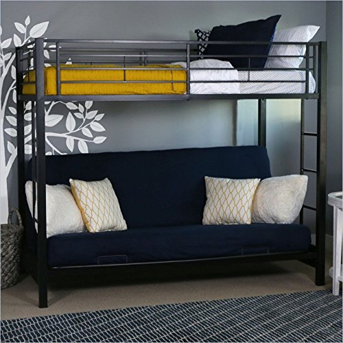 Our #4 Pick is the Home Accent Furnishings Sunrise Metal Twin Futon