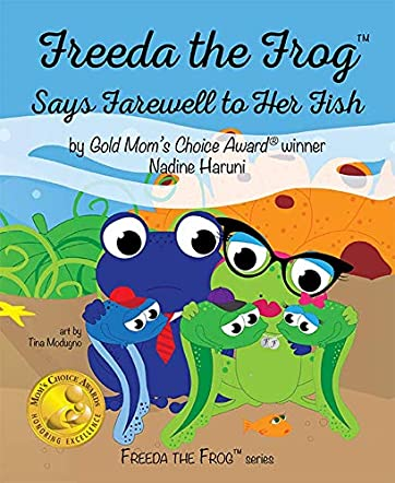 Freeda The Frog Says Farewell to Her Fish