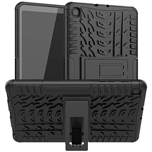 Hülle Firmness Case with Kickstand Compatible for Samsung Galaxy Tab A 8.4(2020)(Black)