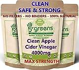 Apple Cider Vinegar 4000mg Per Capsule | 120 Capsules | High Strength Weight
