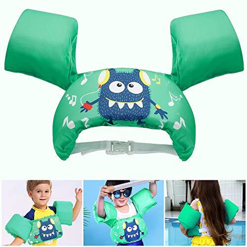 GEYUEYA Home Schwimmflügel Kinder, Schwimmflügel für Kinder von 2-6 Jahre, 14-25kg