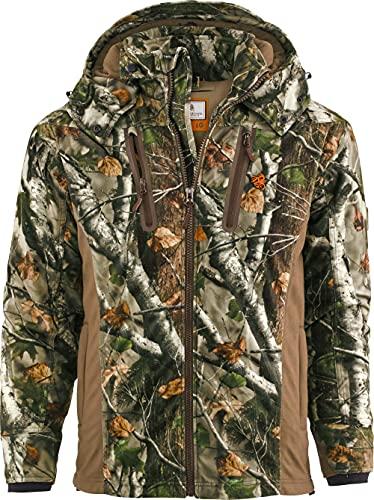 Legendary Whitetails Men's Standard Huntguard Reflextec Jacket, Big Game 360, Large