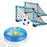 OMWay Kids Toys for 3-10 Year Old Boys, Hover Soccer Ball, 2021 Easter Christmas Birthday Gifts for Kids Age 3 4 5 6 7 8 9, Kids Games for Indoor Outdoor Backyard Outside, 2 Goals and Nets Included