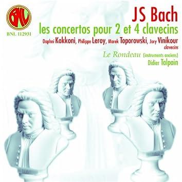 Bach: Concertos pour 2 et 4 clavecins