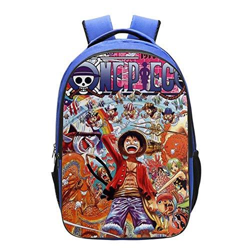 IKDWD One Piece Kinder-Rucksack 3D Printed Schoolboy Rucksack Für Jugendliche Kleinen Travel Pack-Beutel-Geschenk 29 * 42 * 16CM C