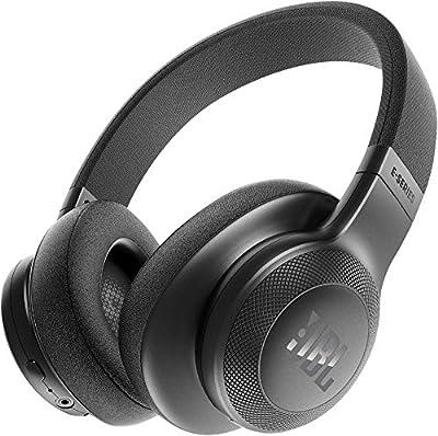 JBL E55BT Over-Ear Wireless Headphones Black