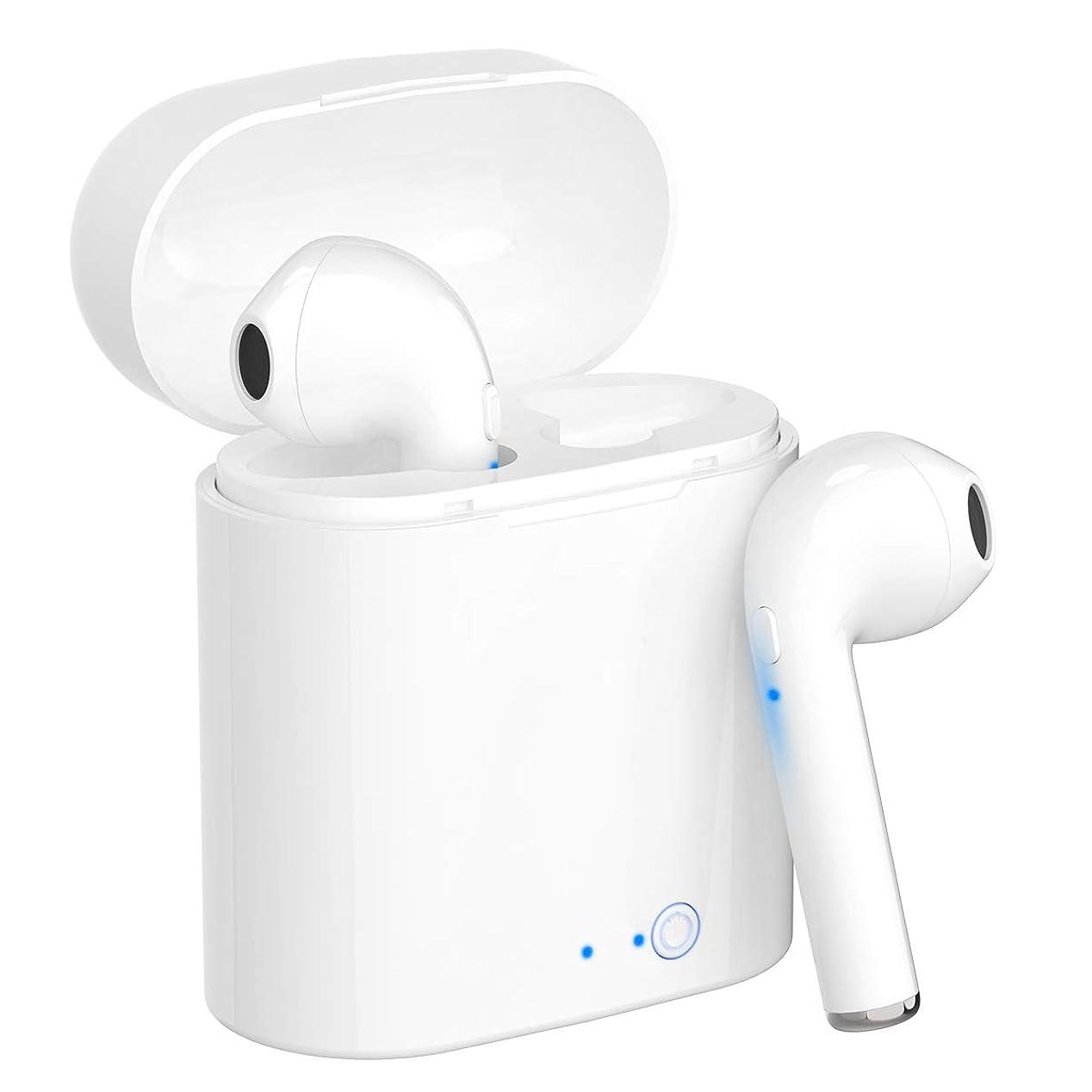 プレーヤーマーク反動Bluetooth イヤホン ワイヤレス イヤホン 高音質 ブルートゥース イヤホン スポーツ ヘッドホン 超軽量 マイク内蔵 iPhone、Android各種対応