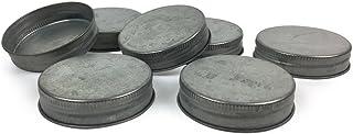 Mason Jar Lids - Fits standard size Mason Jars - Set of 12