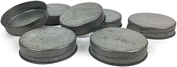 Best galvanized mason jar lids Reviews