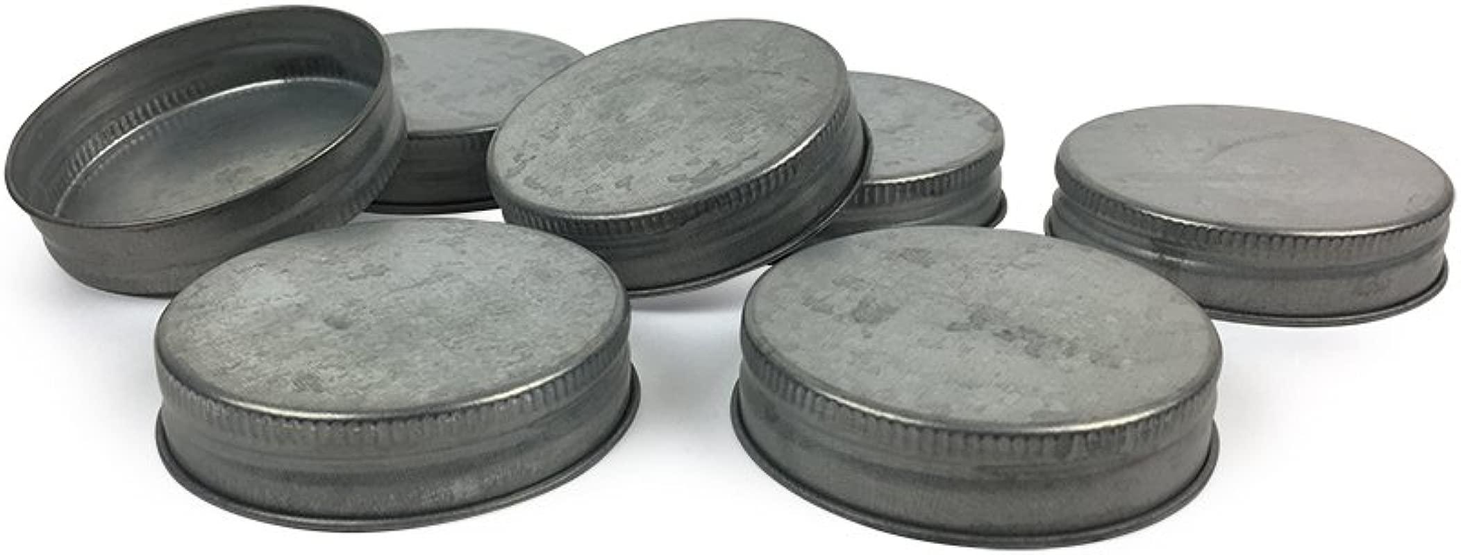 Mason Jar Lids Fits Standard Size Mason Jars Set Of 12