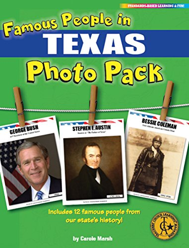 Famous People from Texas Photo Pack (12) (Texas Experience)