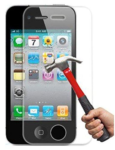 itronik® 9H Hartglas / Panzerglas für Apple iPhone 4 4S / Bildschirmschutzglas / Bildschirm Schutz Folie / Schutzglas / Echte Glas / Verb&englas / Glasfolie