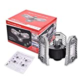 WZTO LED Garage Lights Adjustable LED Garage Ceiling Lights (60W+Silver)