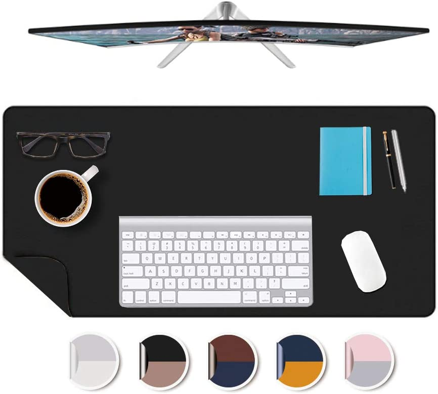 Small Multi-Use PU Leather Desk Cover Mat Popular product Prote Max 41% OFF Office Work