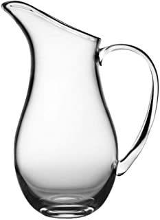 Nambe Moderne Glass Pitcher, 11-Inch