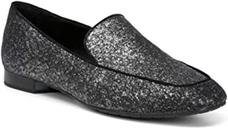 Donald J Pliner Womens Honey G-7 Closed Toe Loafers, Grey, Size 7.0