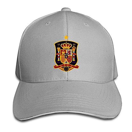 MaNeg España Equipo de fútbol Gorro de Sandwich & Cap