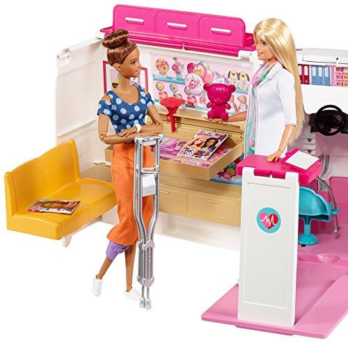 Ambulance de Secours Clinique Soins Médical Barbie - 18