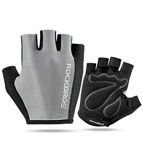 Bruce Dillon Bicycle Gloves Half Finger Bicycle Gloves Shockproof Breathable Mountain Bike Mountain Bike Gloves Male Sports Bike Gloves - S099 X S