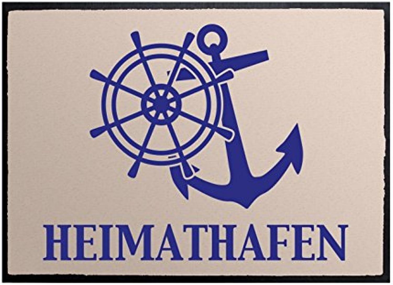 Klebefieber Fußmatte Heimathafen B x H    70cm x 50cm B01ALW184S 9631da