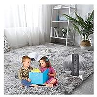 LXHONG ラグマットふわふわした子供部屋用マットふわふわコールド肌に優しいポリエステル混紡矩形床リビングルーム、カスタマイズ可能 (Color : Gray, Size : 120 x 300 cm)