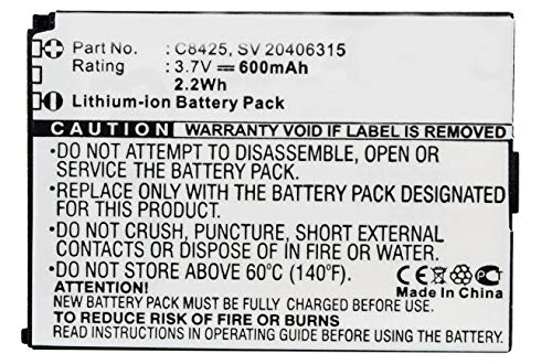 Synergy Digital Battery Compatible with Swissvoice C8425 Cordless Phone Battery - (Li-Ion, 3.7V, 600 mAh)