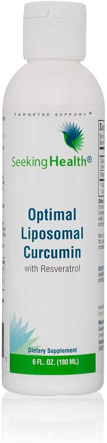 Seeking Health Optimal Curcumin Liposomal 新入荷 税込 流行 Tumeric