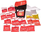 MRE Meals - 124-Serving Freeze Dried Emergency Food Supply - Ultimate Preparedness Pack, Multi Color