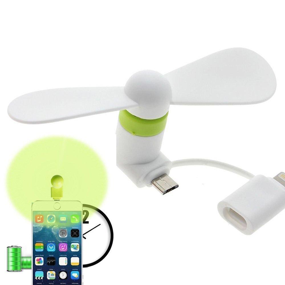 Swallowzy Mini USB Ventilador 2 en 1 portátil Ventiladores de ...