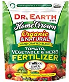 Dr. Earth Organic Fertilizer for companion planting tomatoes