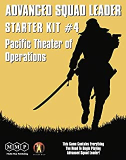 MMP: Starter Kit #4, Pacific Theater of Operations, Boardgame for The Advanced Squad Leader ASL Game Series