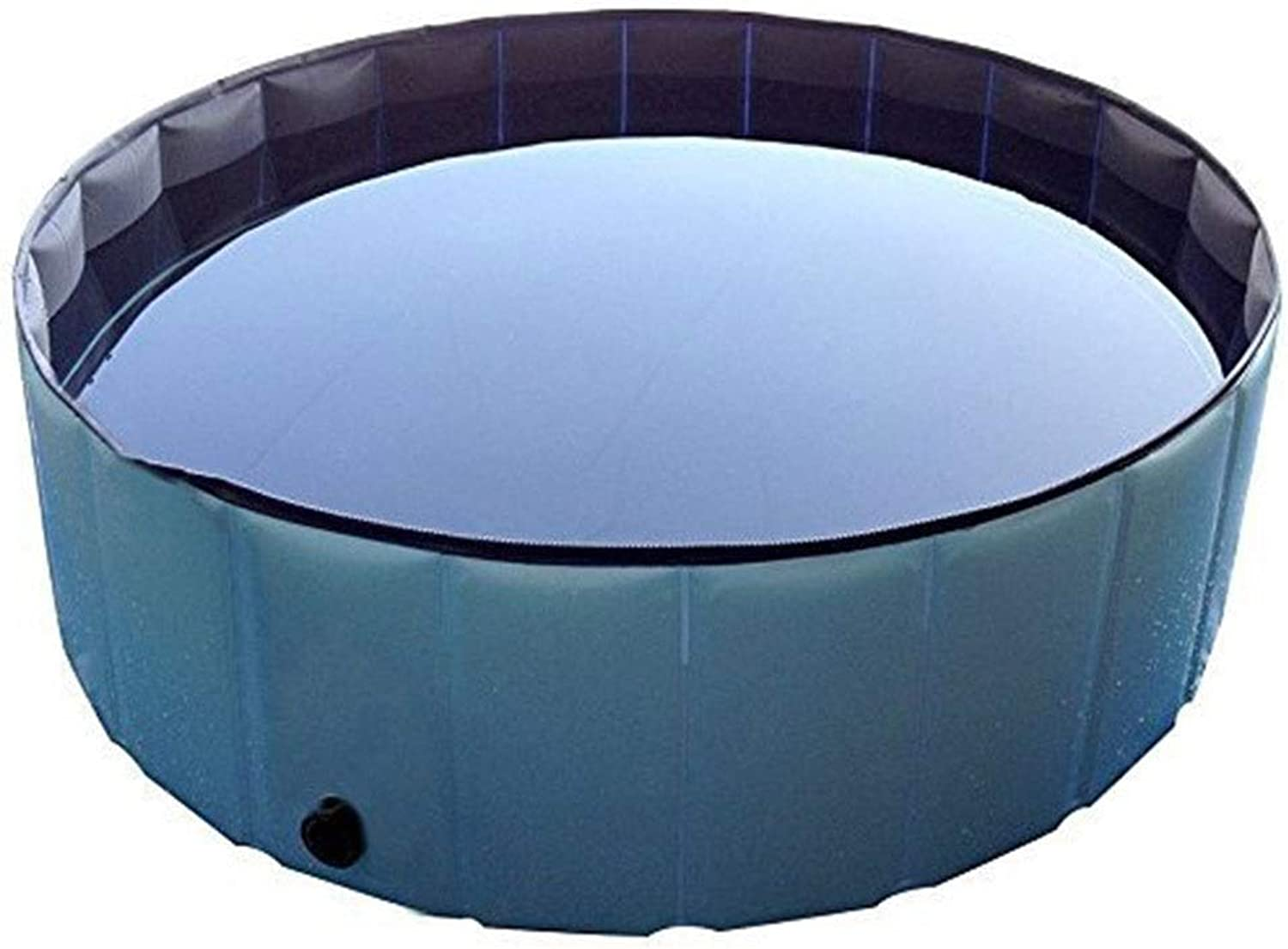 Foldable Dog Bath Collapsible Swimming Pool Round Heavy Duty Outdoor ...